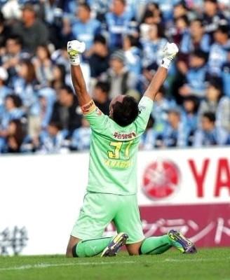 J1昇格PO準決勝試合終了直後