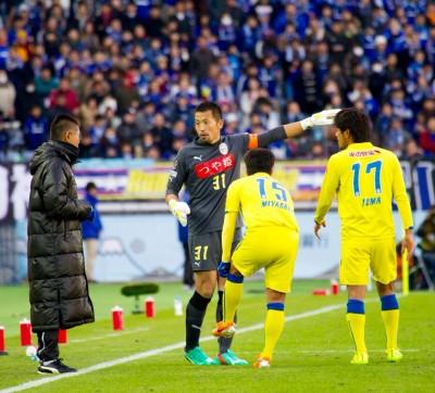 天皇杯決勝後半
